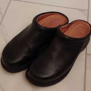 Ariat Women's Black Leather Clogs Slides